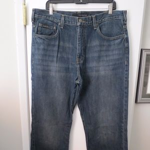Calvin Klein Men's Relaxed Straight Jeans, 36 x 32